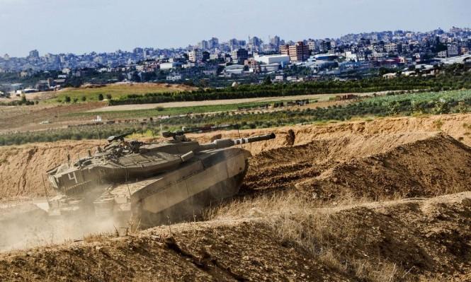 جيش الاحتلال يقيم منطقة عازلة مع قطاع غزة