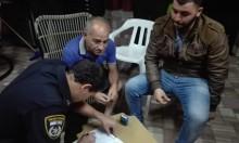سخنين: إلقاء قنبلة ومحاولة إحراق لسيارة الصحافي عادل طربيه
