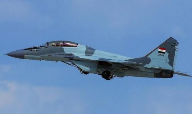 """تحطم مقاتلة """"ميغ-29"""" خلال طلعة تدريبية في مصر"""