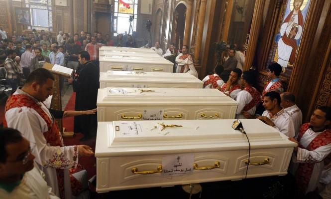 مشيعو ضحايا هجوم المنيا يرفضون قبول العزاء من المسؤولين