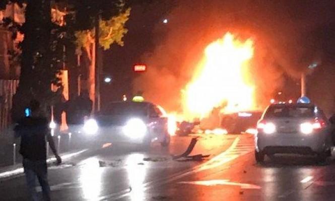 قتيلان في انفجار مركبة بتل أبيب