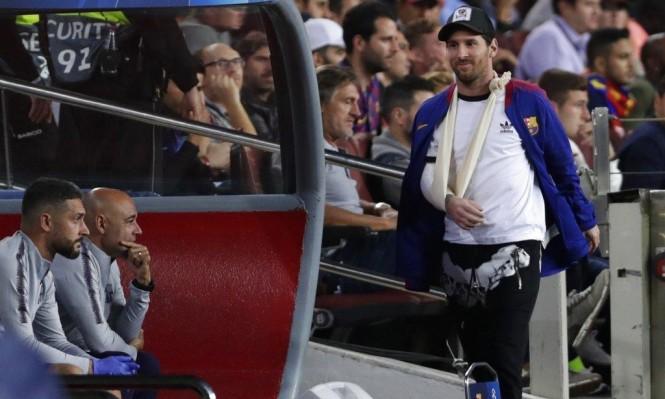 هل سيدفع مدرب برشلونة بميسي أمام إنتر ميلان؟