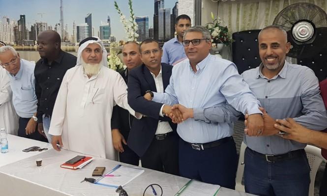 """تحالف """"رهط بلدنا"""" يدعو الرئيس المنتخب أبو صهيبان لإقامة ائتلاف واسع"""