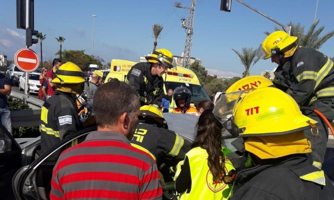 مصرع امرأة من كفر مندا في حادث طرق قرب عكا