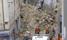 مرسيليا: انتشال 6 جثث من تحت أنقاض مبنيين