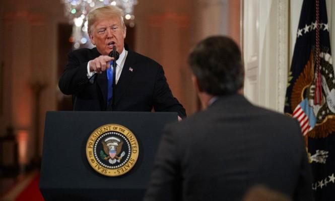 أسئلة الهجرة تثير غضب ترامب لينتقم من مراسل CNN