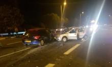 6 إصابات في حادثي طرق على شارع 85