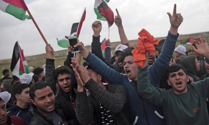 غزة: شهيد و37 مصابا برصاص الاحتلال؛ والسنوار: لا اتفاق مع الاحتلال