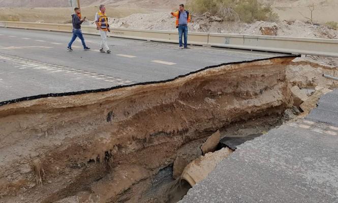 نهاية أسبوع شتوية: فيضانات وعواصف رعدية