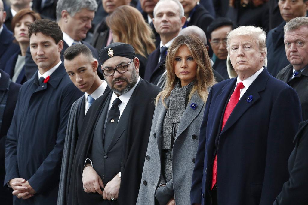 قادة العالم يشاركون بإحياء مئوية الحرب العالمية الأولى