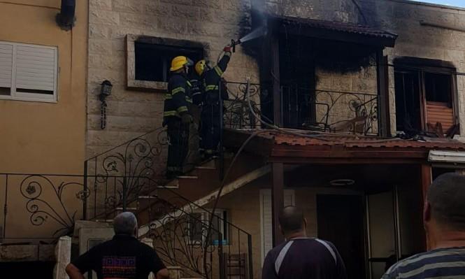 حوادث منزلية: 3 إصابات إثر اندلاع حريق في منزل بطمرة