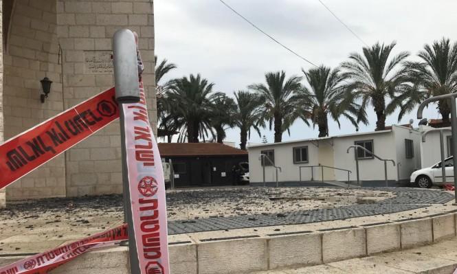 قلنسوة: الحريق في مبنى البلدية كان متعمدا