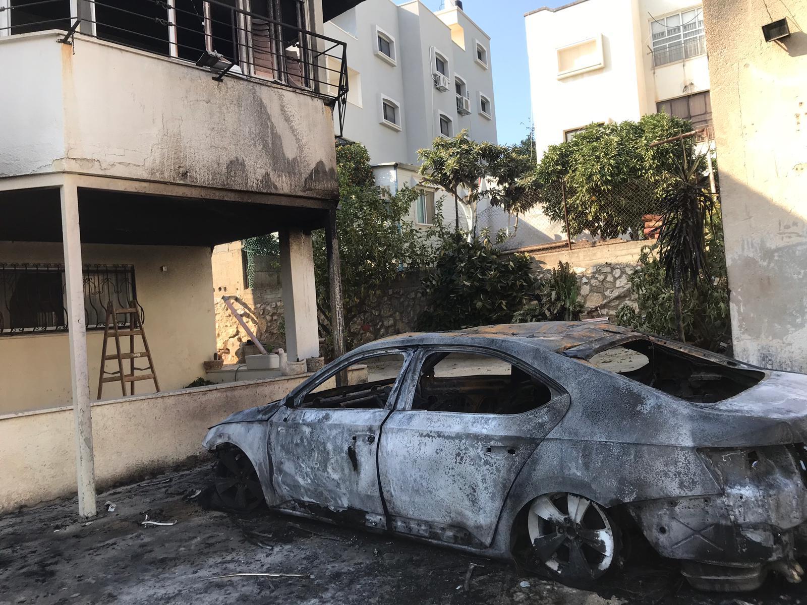 الطيبة: احتراق سيارة النائب عبد الحكيم حاج يحيى