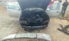 جرائم المستوطنين: إحراق مركبة وشعارات عنصرية جنوب نابلس