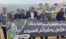 وقفة تضامنية مع الأسيرات الفلسطينيات أمام سجن الدامون