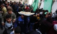 غزة: توزيع الحلويات احتفالا باستقالة ليبرمان