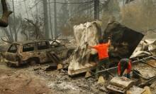 كاليفورنيا: ارتفاع حصيلة ضحايا حرائق الغابات إلى 48