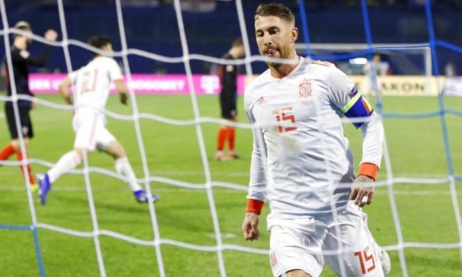 إصابة راموس تثير قلق ريال مدريد