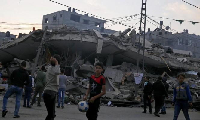 1252 وحدة سكنية تضررت جراء غارات الاحتلال على غزة