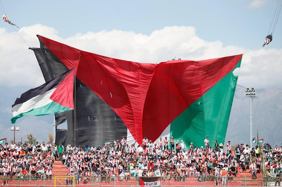 """""""الفلسطيني"""" يتوّج بكأس تشيلي للمرة الثالثة"""