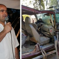 البعينة نجيدات: مصرع الأسير المحرر وسام خليل وإصابة زوجته بحادث طرق