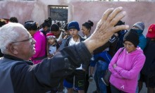 احتجاجات بالمكسيك على قافلة مهاجرين متجهة لأميركا