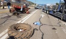 عيلبون: إصابة خطيرة لمسن في حادث طرق