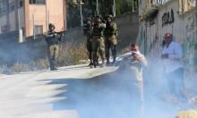 إصابات إحداها خطيرة بمواجهات مع الاحتلال في عوريف