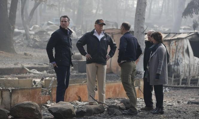 ارتفاع حصيلة ضحايا الحرائق في كاليفورنيا إلى 77