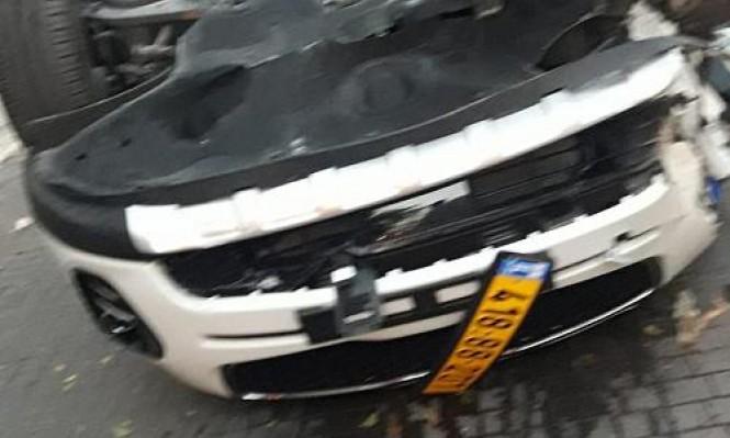 الناصرة: إصابات في انقلاب سيارة أجرة