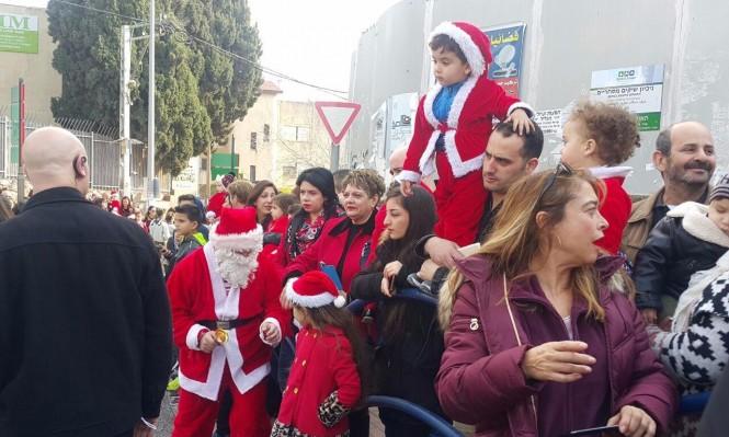 الناصرة: استعدادات للاحتفال بإضاءة شجرة الميلاد