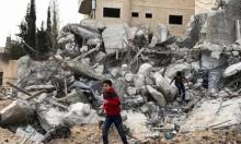 الاحتلال ينفذ عمليات هدم جنوب نابلس