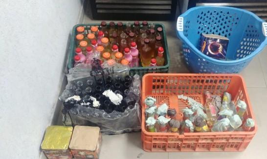 كفر مندا: اعتقال 15 شخصا وضبط 122 زجاجة حارقة