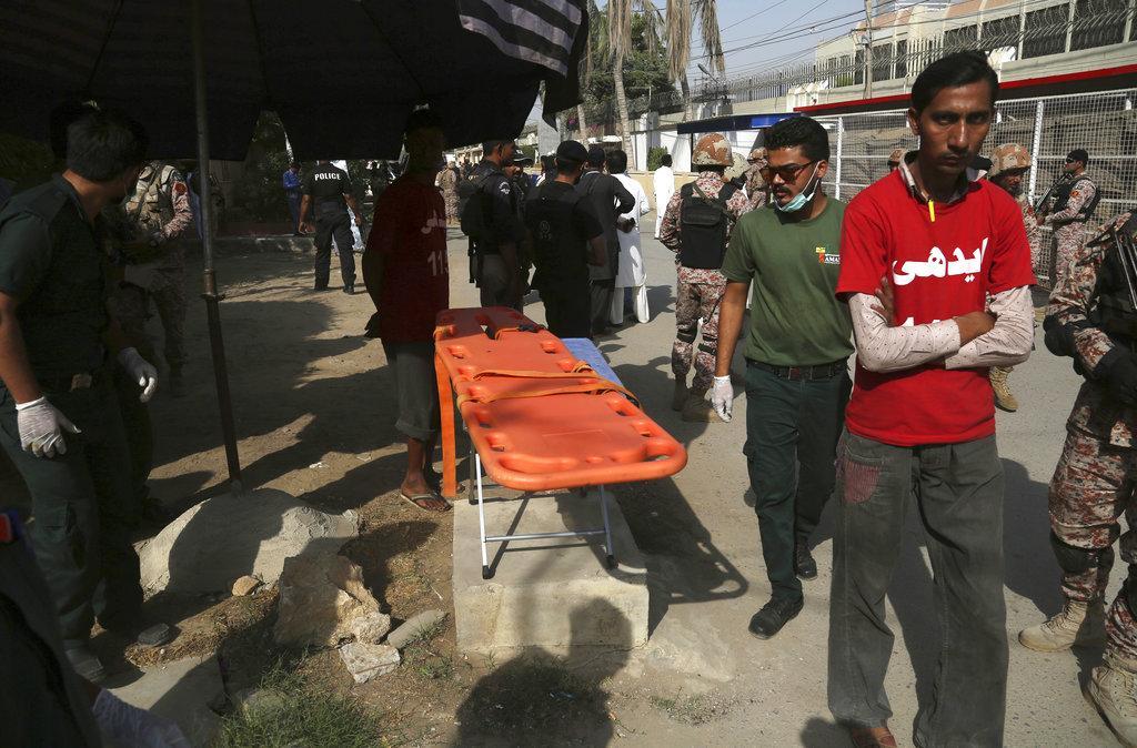 باكستان: قتيلان في هجوم على قنصلية الصين في كراتشي