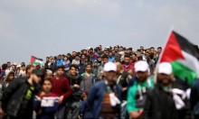 """غزة: 14 مصابًا برصاص الاحتلال في جمعة """"المقاومة توحدنا وتنتصر"""""""
