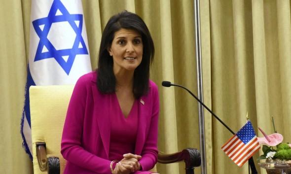 """هيلي تسعى لإنهاء مشوارها في الأمم المتحدة بإدانة """"حماس"""""""