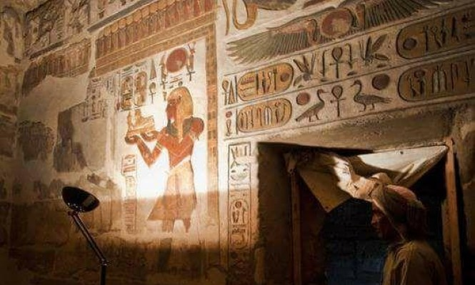 مصر: اكتشاف مقبرة تضم كنوزا فرعونية