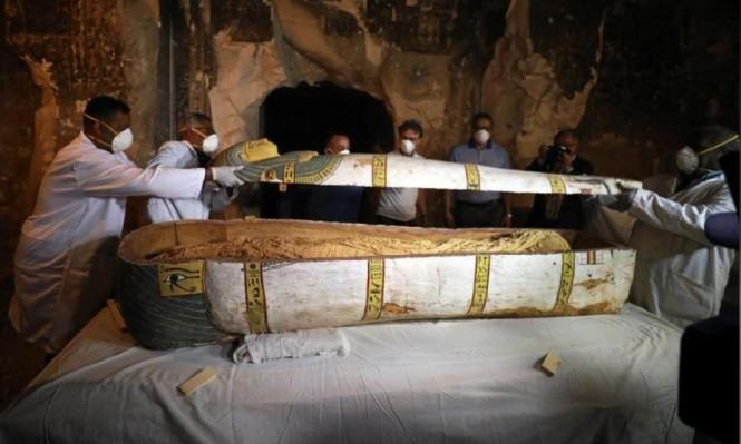 مصر: الكشفُ عن تابوت أثري لم يُفتح من قبل يحوي مومياء