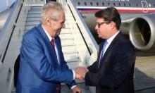 """الرئيس التشيكي """"متحمس"""" لحل الدولة الواحدة"""