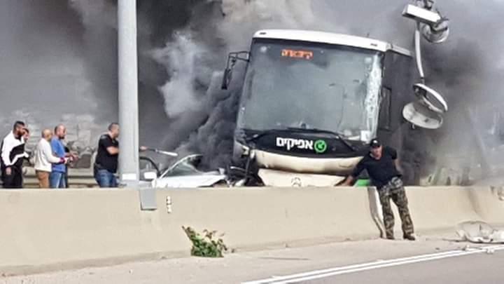 مصرع امرأة جراء حادث طرق بالضفة