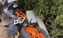 مصرع سائق دراجة نارية في حادث طرق قرب نهريا