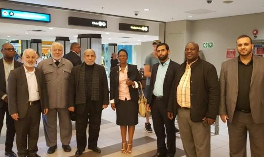وفد برلماني برئاسة الزهار يزور جنوب أفريقيا