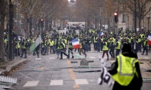 جرحى واعتقالات على وقع احتجاجات الوقود في باريس