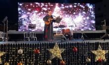 الناصرة: إضاءةُ شجرة الميلاد وسط مُشاركة واسعة
