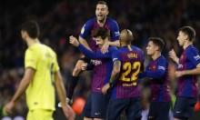 برشلونة يعزز صدارته بالفوز على فياريال