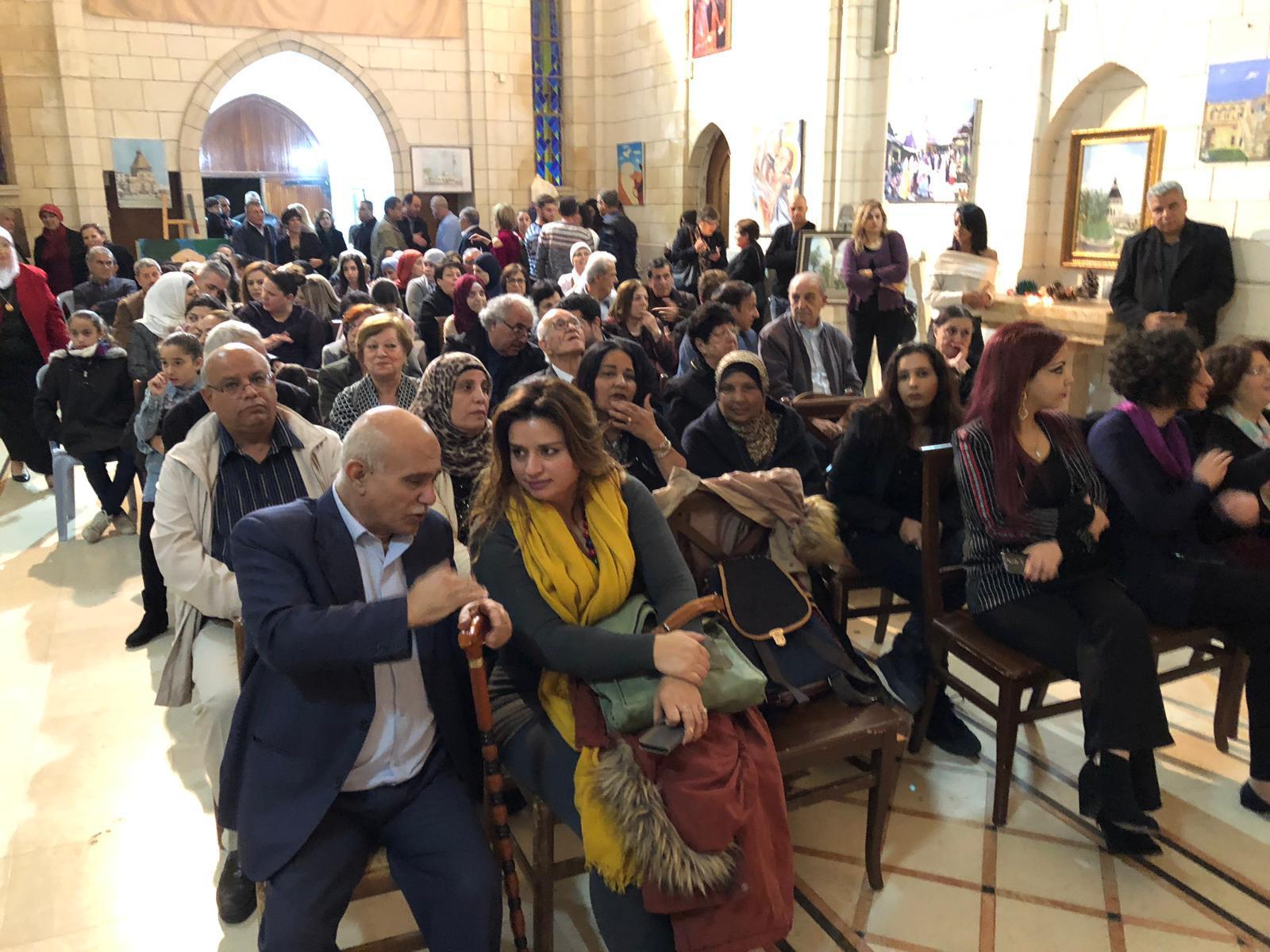 """افتتاح معرض """"الناصرة بعيون فنانيها"""""""