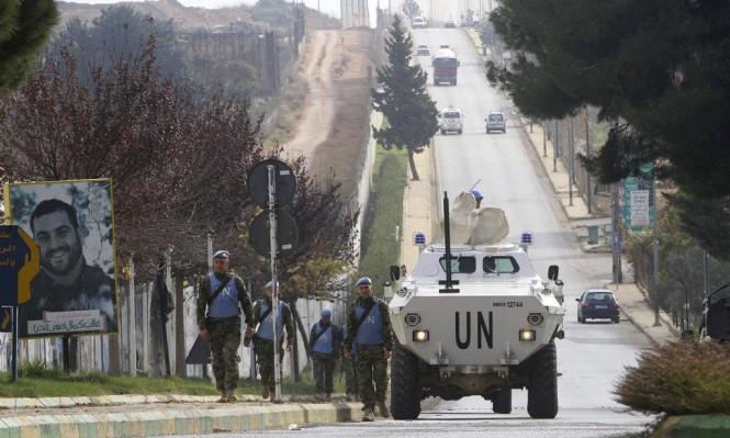 """""""يونيفل"""": نعمل مع إسرائيل ولبنان لمنع التصعيد"""