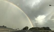 حالة الطقس: ماطر وعاصف شمالي البلاد والمنطقة الساحلية