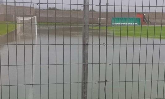 بسبب حالة الطقس: تأجيل مباريات عديدة في البلاد