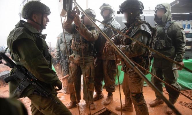 """""""درع شمالي"""": الاحتلال يزعم الكشف عن نفق ثان لحزب الله"""